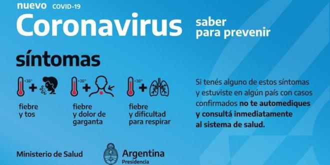 Coronavirus Argentina: Ya son mas de 100 los muertos