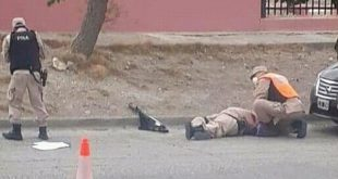 Prefecto fue asesinado a balazos en un control de tránsito
