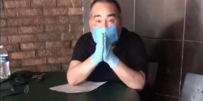 Video: Propietario de un restaurante rompe en llanto porque ya no puede pagar a empleados