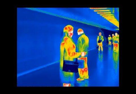 cámaras térmicas en el subte