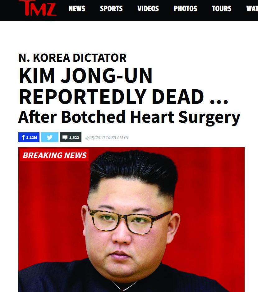 El dictador norcoreano Kim Jong habría fallecido informan medios internacionales