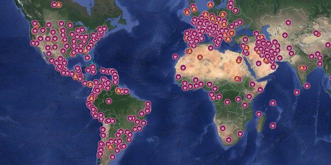 países que todavía no tienen coronavirus