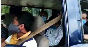 Video: Familia pretendía trasladar un pariente muerto por coronavirus como si fuera un pasajero dormido