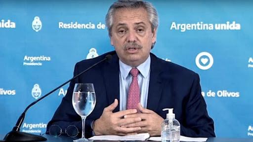 """Alberto Fernández :  """"tenemos previsto que el domingo próximo se termine la cuarentena"""""""