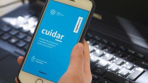 Qué datos puede acceder el gobierno a través de la aplicación CuidAR