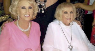 Murió Goldie, la hermana GEMELA de Mirtha Legrand