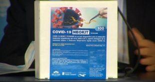 """Científicos y científicas de nuestro país crearon el nuevo test de diagnóstico rápido """"NEOKIT-COVID-19""""."""