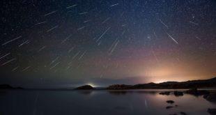 En Mayo se verá una increíble lluvia de estrellas fugaces del cometa Halley