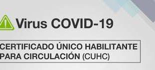 Como tramitar el nuevo permiso de circulación para trabajadores esenciales (CUHC)