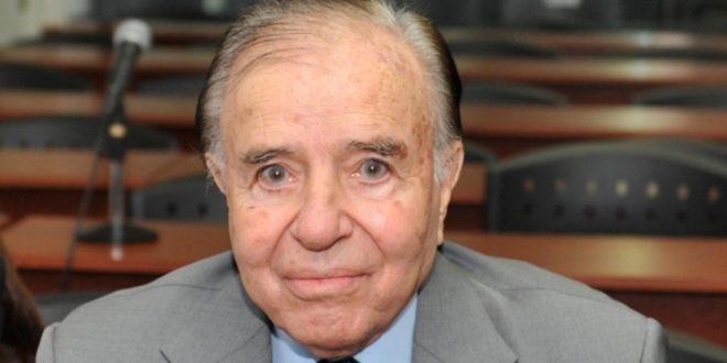 Carlos Menem está en terapia intensiva