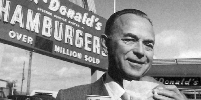 Las mejores frases de Ray Kroc. The founder