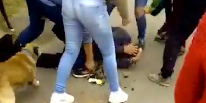 Video: Vecinos empalaron a ladrón que robaba