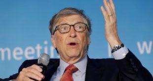 """Bill Gates: """"el mundo rico debería poder terminar con esto [el coronavirus], mientras que el resto de los países lo vería concluido para fines de 2022""""."""
