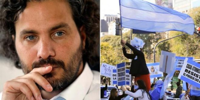 Santiago Cafiero: Les pedimos perdón a los médicos y las médicas, enfermeros y enfermeras por no haner podido evitar la movilizacion