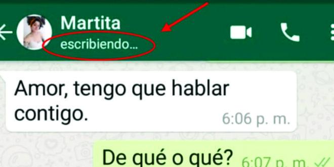 """WhatsApp: cómo esconder el """"escribiendo"""""""
