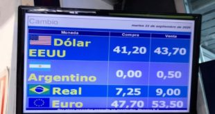 El peso Argentino ya no tiene valor en las casas de cambio de Uruguay