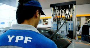 YPF aumentó el precio de los combustibles un 3,5% en todo el país