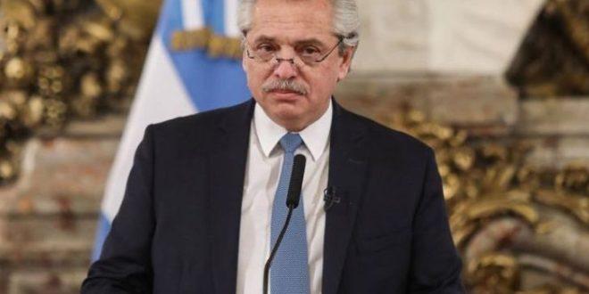 """Alberto Fernández : habrá un """"banderazo de los argentinos de bien"""" cuando """"termine la pandemia"""""""