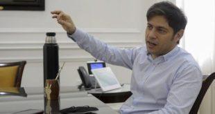 """Kicillof: """"Los barrios privados son prácticamente ocupaciones de tierras"""""""