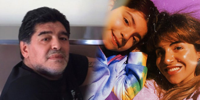 Maradona echó a todos de su casa