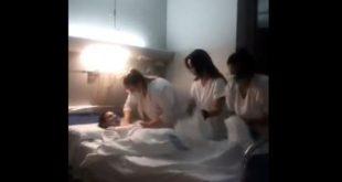 Video: enfermeras se burlan de los fallecidos por coronavirus