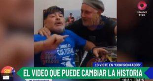El video de Maradona grabado días después de su operación en la cabeza