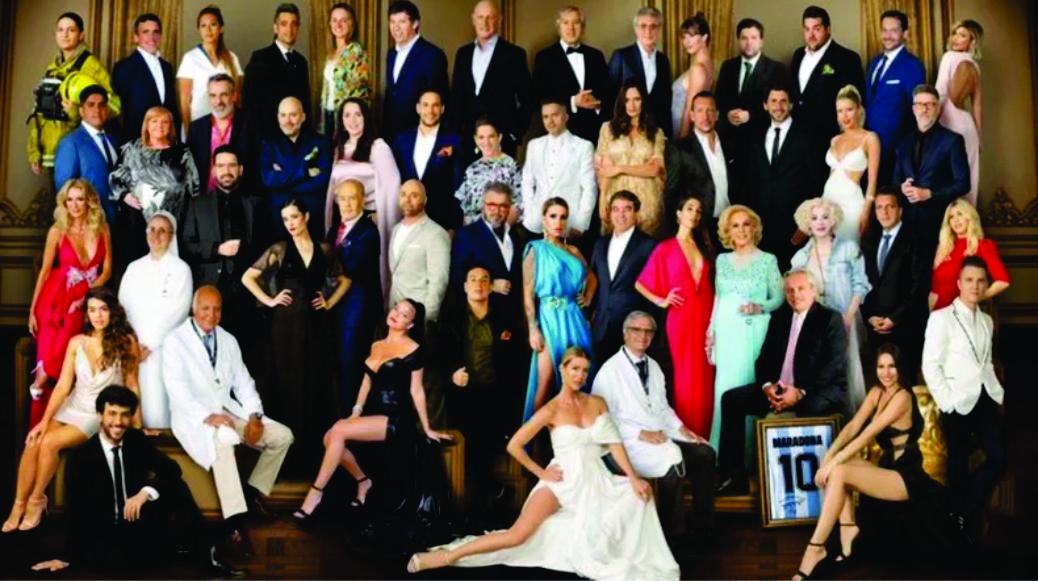 Revista Gente presentó los personajes del año