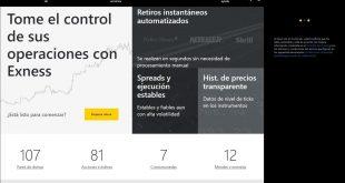 Exness - broker online líder de Forex. Reseña / Crítica