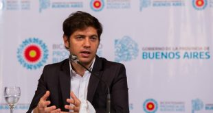 Video en vivo : Conferencia de prensa de Axel Kicillof para referirse a las nuevas restricciones