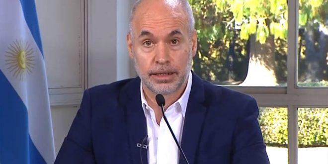"""Horacio Rodríguez Larreta declarará """"esencial"""" la educación para evitar el cierre"""