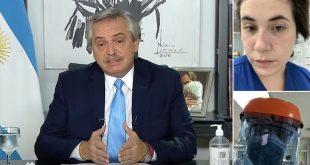 """Médicos furiosos con Fernández por insinuar que """"se relajaron"""""""